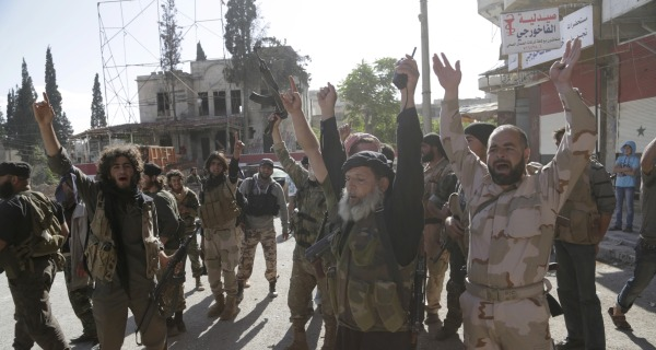 U.S. Launches Airstrikes to Aid American-Trained Syrian Rebels
