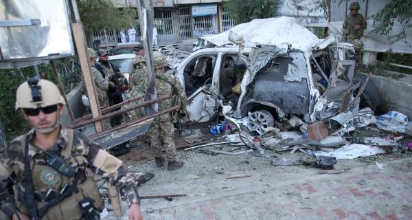 Afghan Suicide Bomb Kills 12, Including Three American Contractors