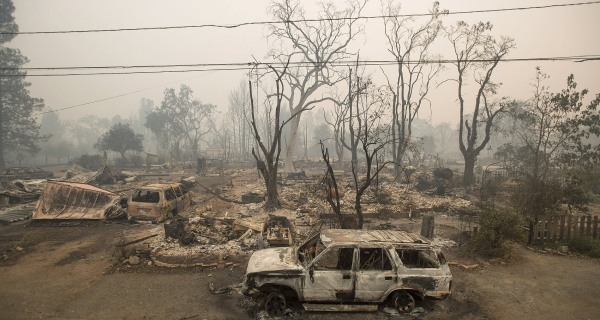 Valley Fire Victims Still Picking Up the Pieces in California