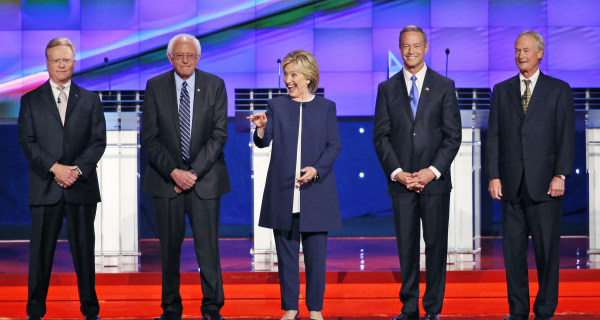 RECAP: Democrats Face Off in First 2016 Primary Debate