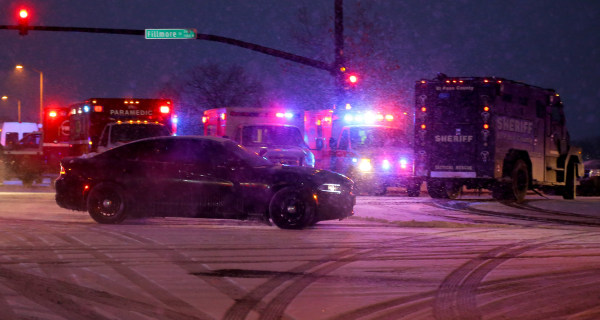 Gunman Gives Up After Colorado Standoff That Leaves 11 Hurt