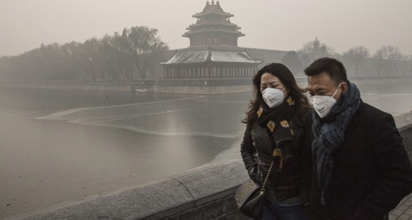 China Chokes on Smog as World Leaders Talk Climate Change