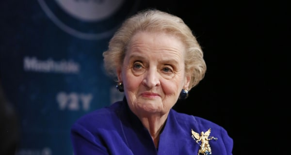 Madeleine Albright Slams Sanders on Foreign Policy While Supporting Clinton