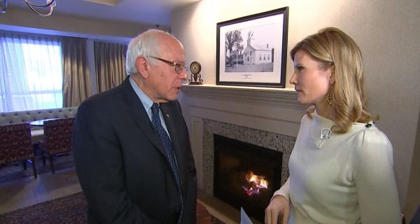 Bernie Sanders Shrugs Off Albright's Foreign Policy Slam