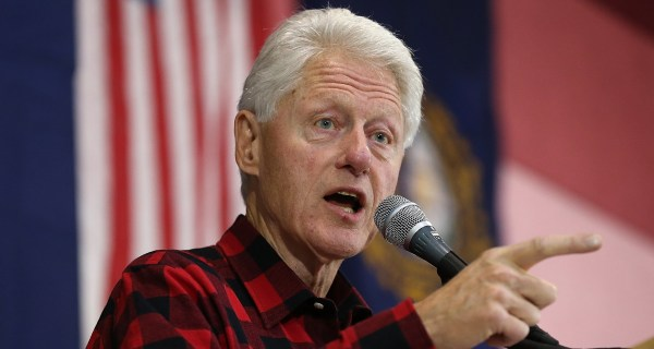 Bill Clinton Launches Attack on Bernie Sanders in New Hampshire