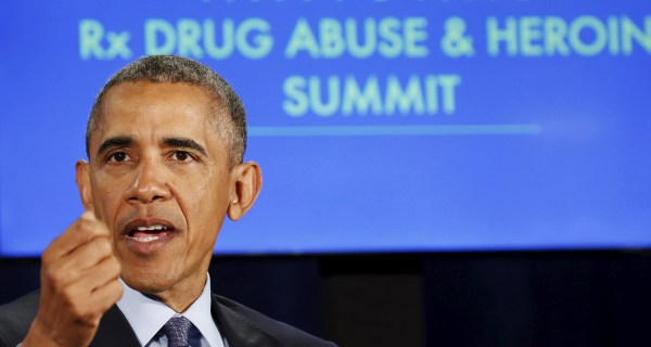 Obama Pushes For More Treatment for Opioid Addiction