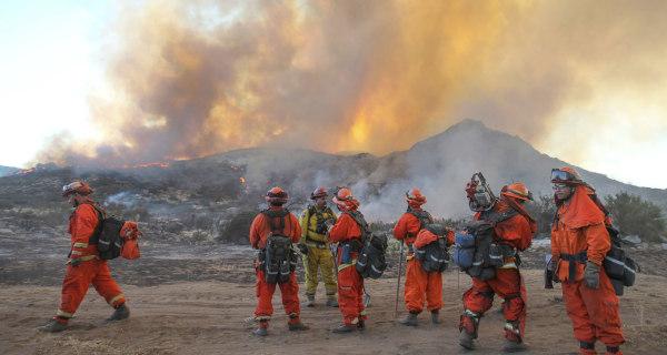 Two Bodies Found Near California's Border Wildfire