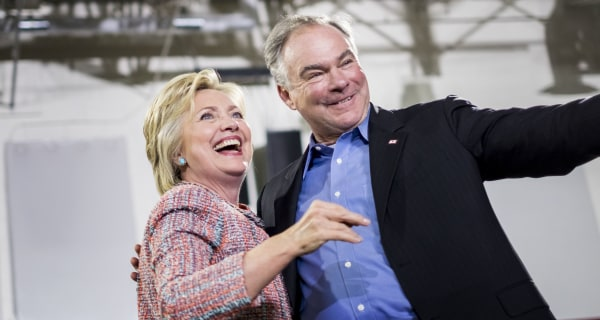Hillary Clinton Opts for Experience Over Exhilaration in Tim Kaine Pick