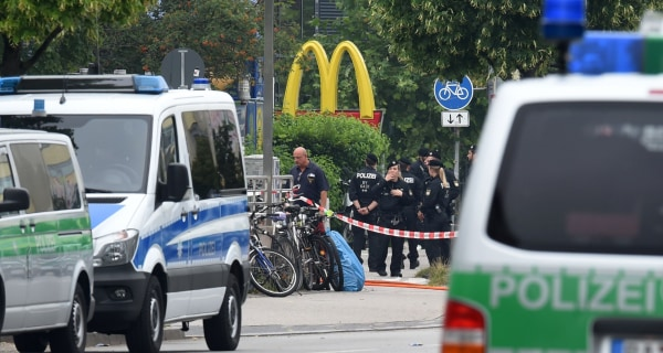 Munich Shooting Rampage: Police Search for Clues After Gunman Kills 9