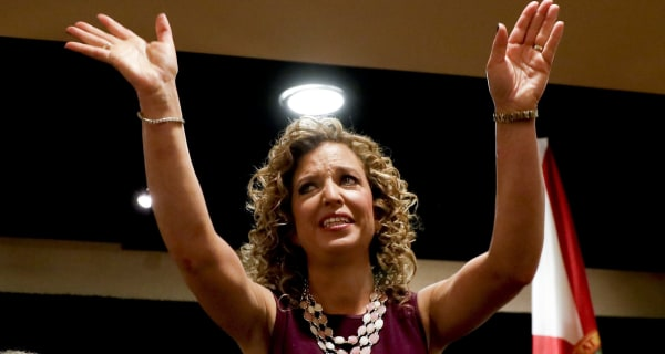 Embattled DNC Chief Debbie Wasserman Schultz Won't Speak at Convention