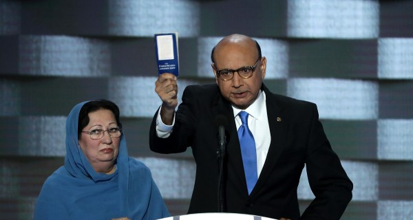 Parents of Capt. Khan Warn GOP's Ryan, McConnell Over Trump