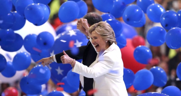 On Historic Night, Hillary Clinton Favors Pragmatism Over Flair
