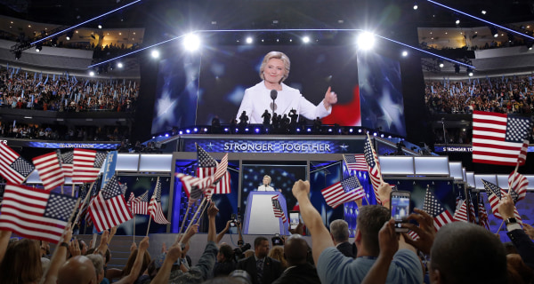 First Read: An OK Speech, But a Powerful Convention