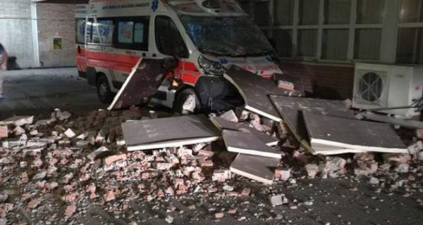 Strong Overnight Earthquake Rocks Central Italy
