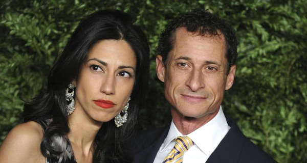 Huma Abedin Announces Separation from Husband Anthony Weiner