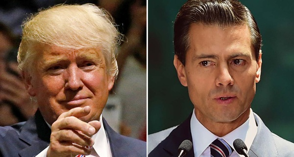 Trump Meets with Mexican President But Skips Border Wall Negotiations
