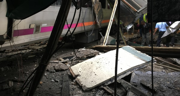 Commuter Train Crashes Into Hoboken, New Jersey, Station, Killing 3: Officials