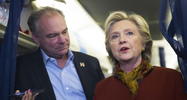 Tim Kaine: Election Not Over, Been a 'Season of Surprises'