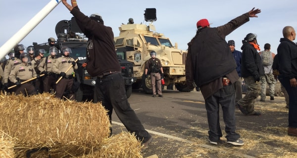 Dakota Access Pipeline: 141 Activists arrested in Tense Clash With Police