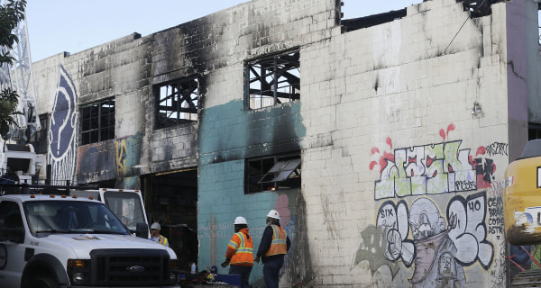 Building Inspector Hadn't Been Inside Oakland Warehouse for 30 Years