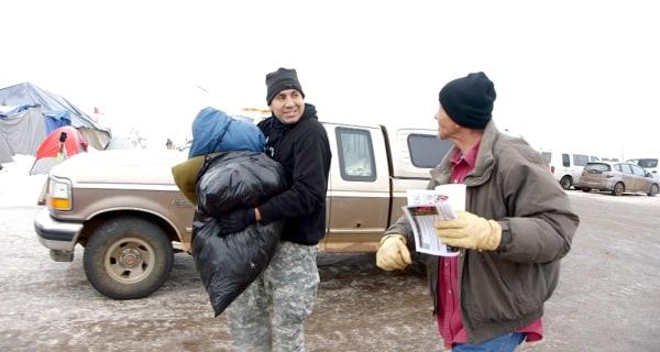 Veteran Finds Forgiveness, Peace in Standing Rock Fight