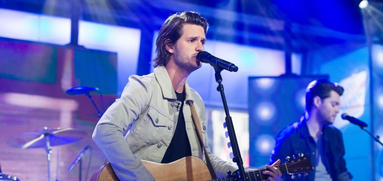 Watch Steve Moakler Perform 'Wheels' Live on TODAY