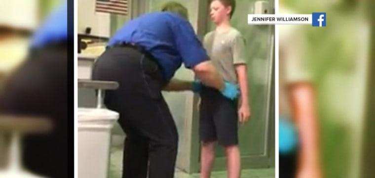 TSA Pat-Down of Son at DFW Airport Leaves Mother 'Livid'