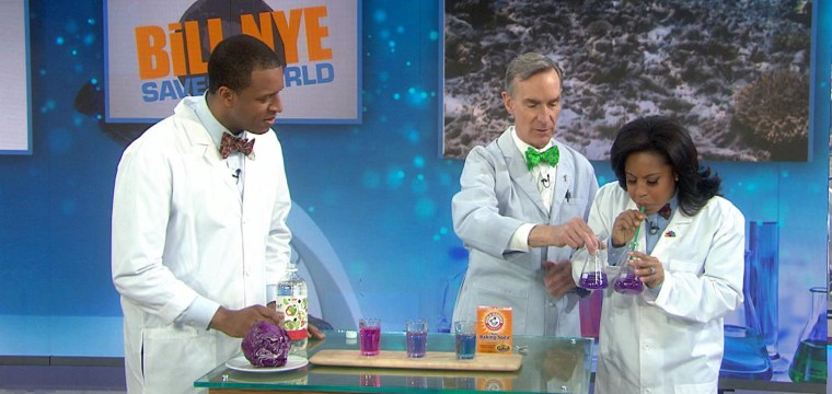 Bill Nye Explains Climate Change, Acidification With Simple Science Experiments