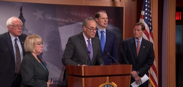 Senate Democrats: GOP Health Care Plan Should be Dead on Arrival