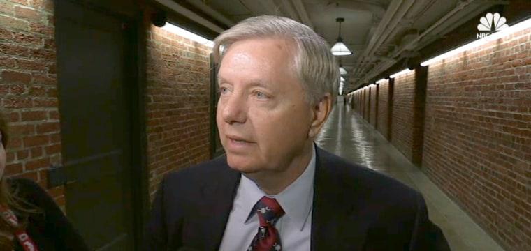 Graham Suspicious of GOP Senators Being Bought off Over Health Bill