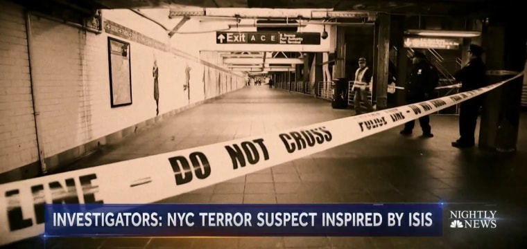NYC bombing suspect wanted to avenge Muslim deaths