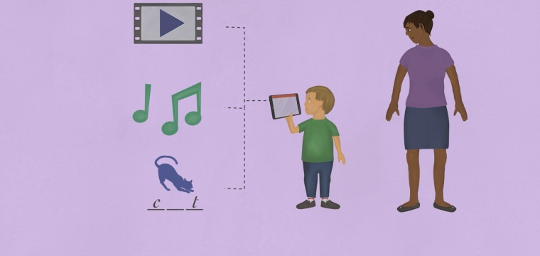 What screen time does to a child's brain