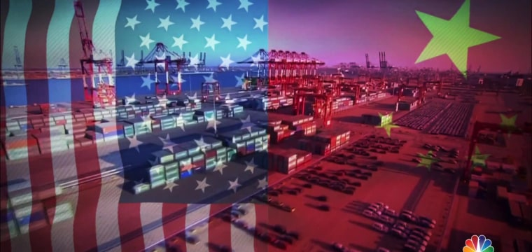 Trump escalates trade war with China following first round of tariffs