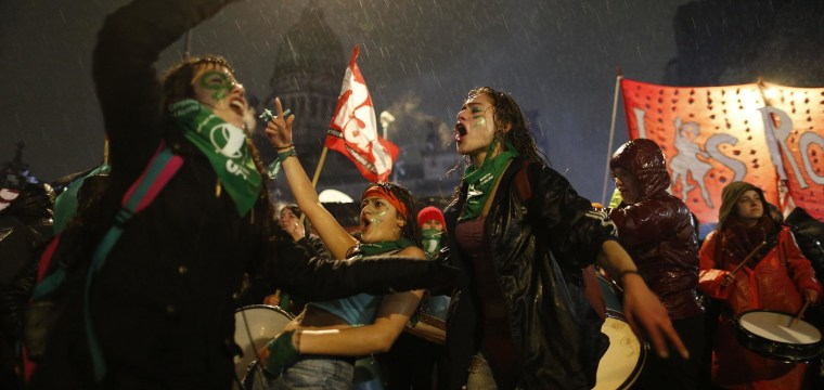 Argentina's Senate rejects legalizing elective abortions
