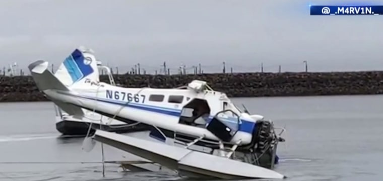 Two dead after float plane crashes in Alaska