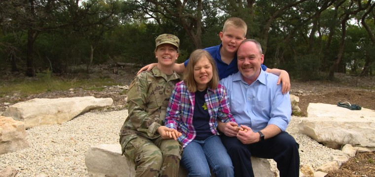 'Homefront dads' redefine what it means to be a military spouse
