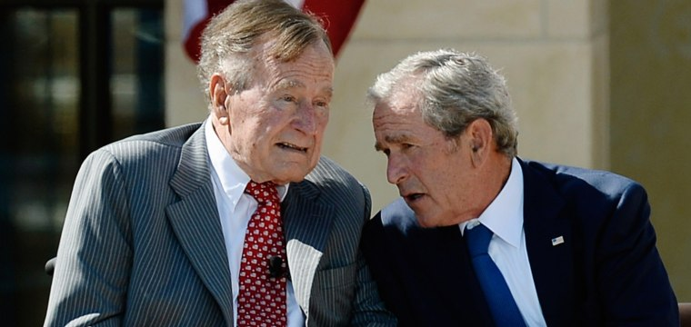 George H.W. Bush Hospitalized for 'Shortness of Breath'
