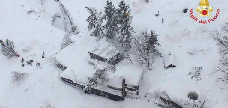 Avalanche Buries Hotel Rigopiano in Italy After Earthquakes