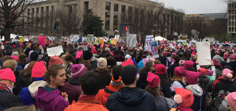 'We Have to Stand Up for Ourselves': Women's March Mobilizes Latinas