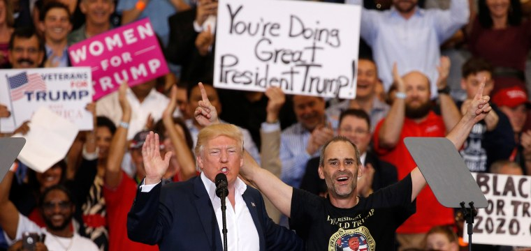 Trump Again Attacks Media at Campaign-Style Rally in Florida