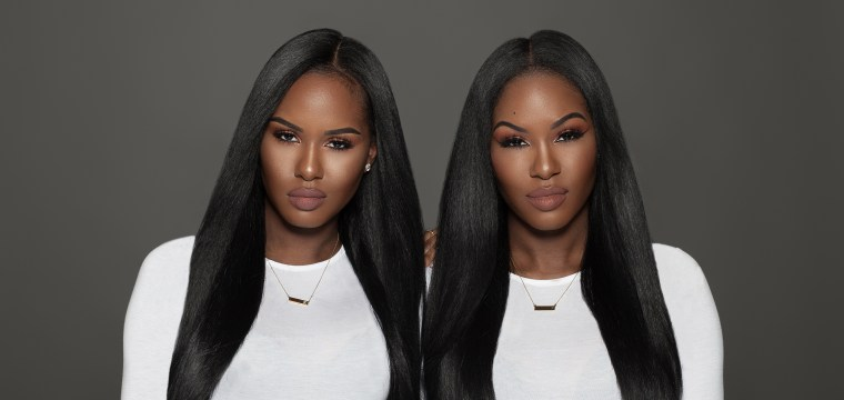 NBCBLK28: 'Glamtwinz' Double Down On Natural Beauty Empowerment