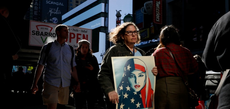 Despite Presidents Day, Protesters Give Trump No Respite