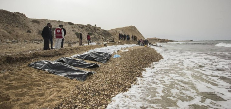 Bodies of 74 Migrants Wash Ashore in Libya