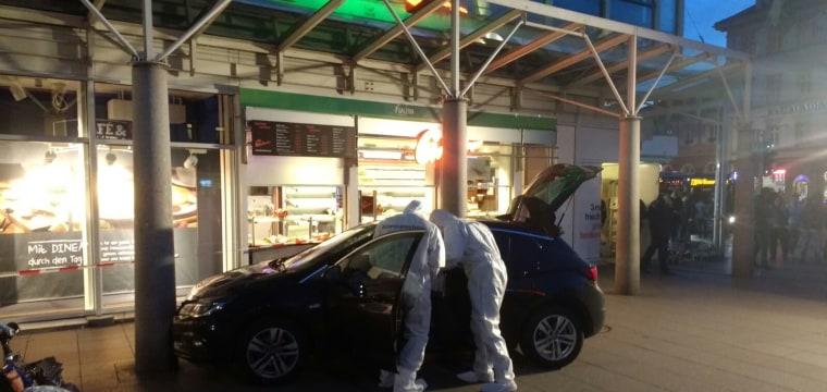 Heidelberg Car Death: Man Shot After Crashing Vehicle Into Crowd, Killing One