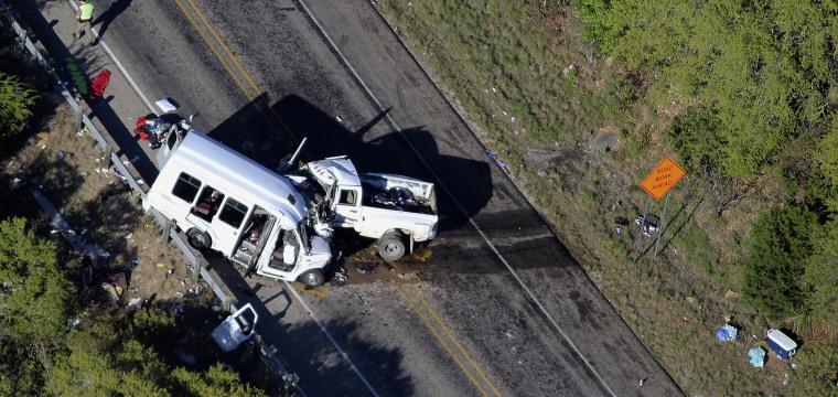13 Dead After Pickup Truck Veers Into Church Van Full of Seniors in Texas