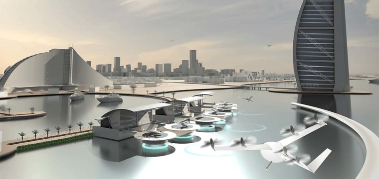 Uber to Test a Fleet of Flying Taxi Cabs by 2020