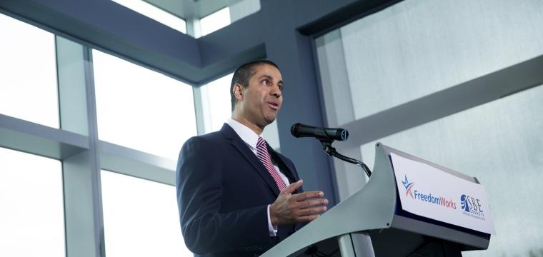 FCC Chairman Ajit Pai Unveils Plan to Kill Obama-Era Net Neutrality Rules