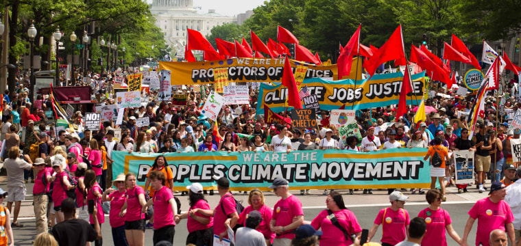 People's Climate March Spurs Thousands to Descend on the White House