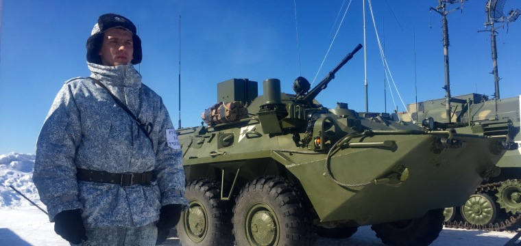 Russia's Military Buildup in Arctic Has U.S. Watching Closely