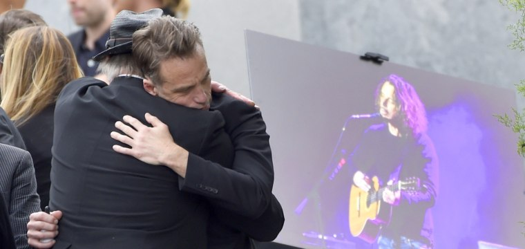 Musicians, Fans Say Goodbye as Soundgarden's Chris Cornell Laid to Rest